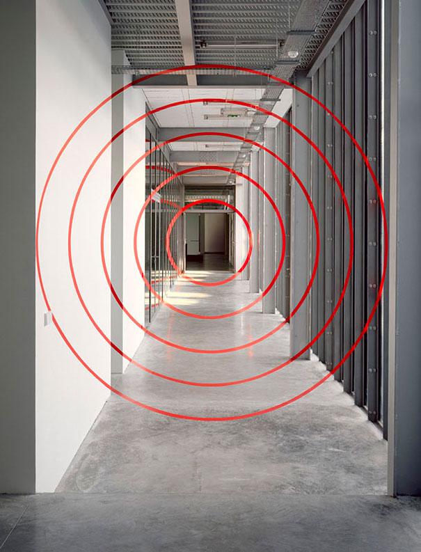 «Cinq cercles concentriques» Paris 1993