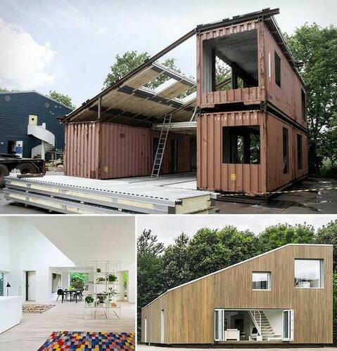 Дома из контейнеров - экономичное жилье