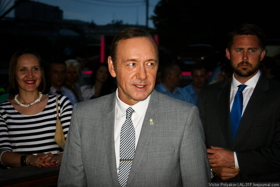 Kevin Spacey in Moscow