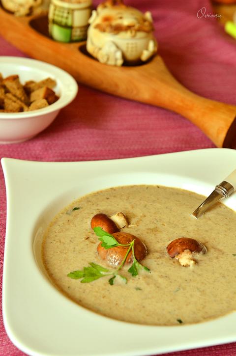 Как сделать крем суп из шампиньонов фото 75