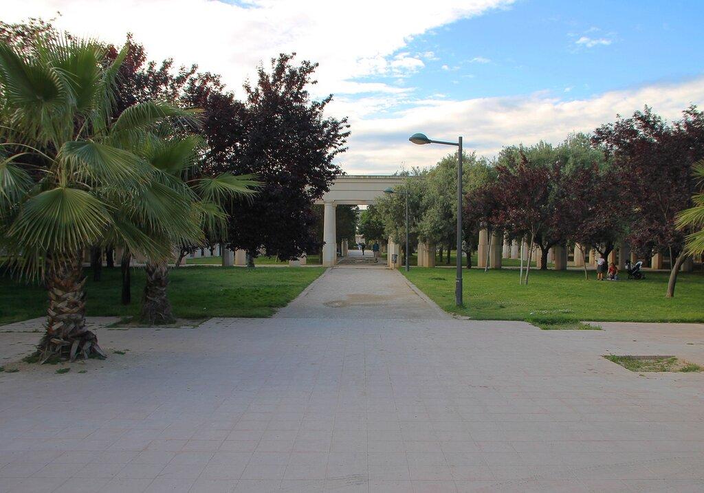 Валенсия. Сады Турия (Jardins del Túria)