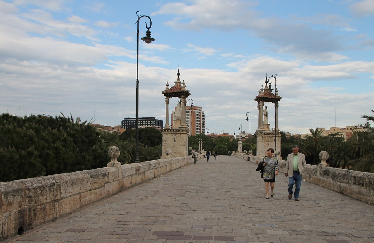 Валенсия. Морской мост (Puente del Mar)