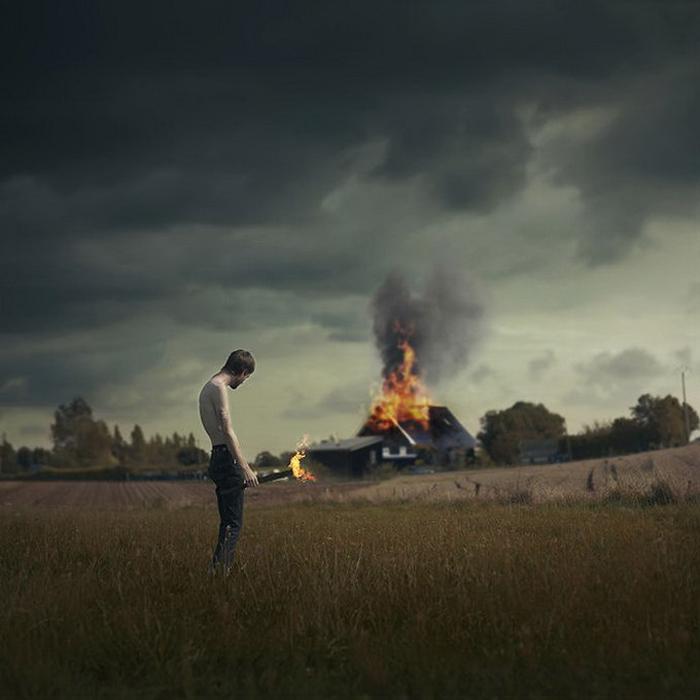 Волшебные фантазии и чудеса наяву: сюрреалистические снимки Винсента Бурийона (Vincent Bourilhon) (18 фото)
