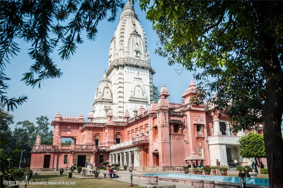 Бирла Мандир, индуистский храм в Варанаси - путешествие по Индии / India by Michal Huniewicz