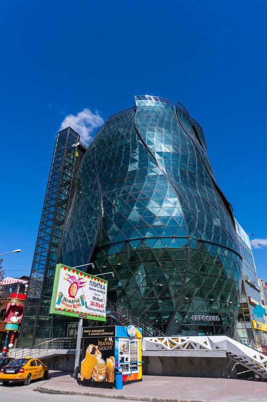 Такое вот необычное здание