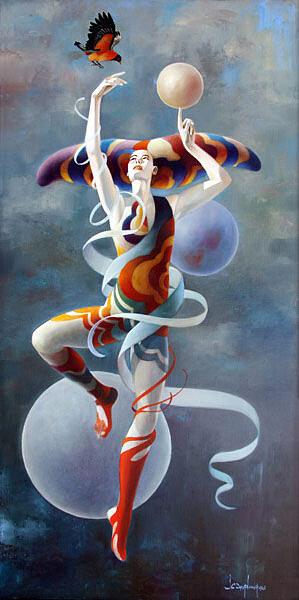 Вселенная в ней и гармония Света.  Jean-Claude Desplanques