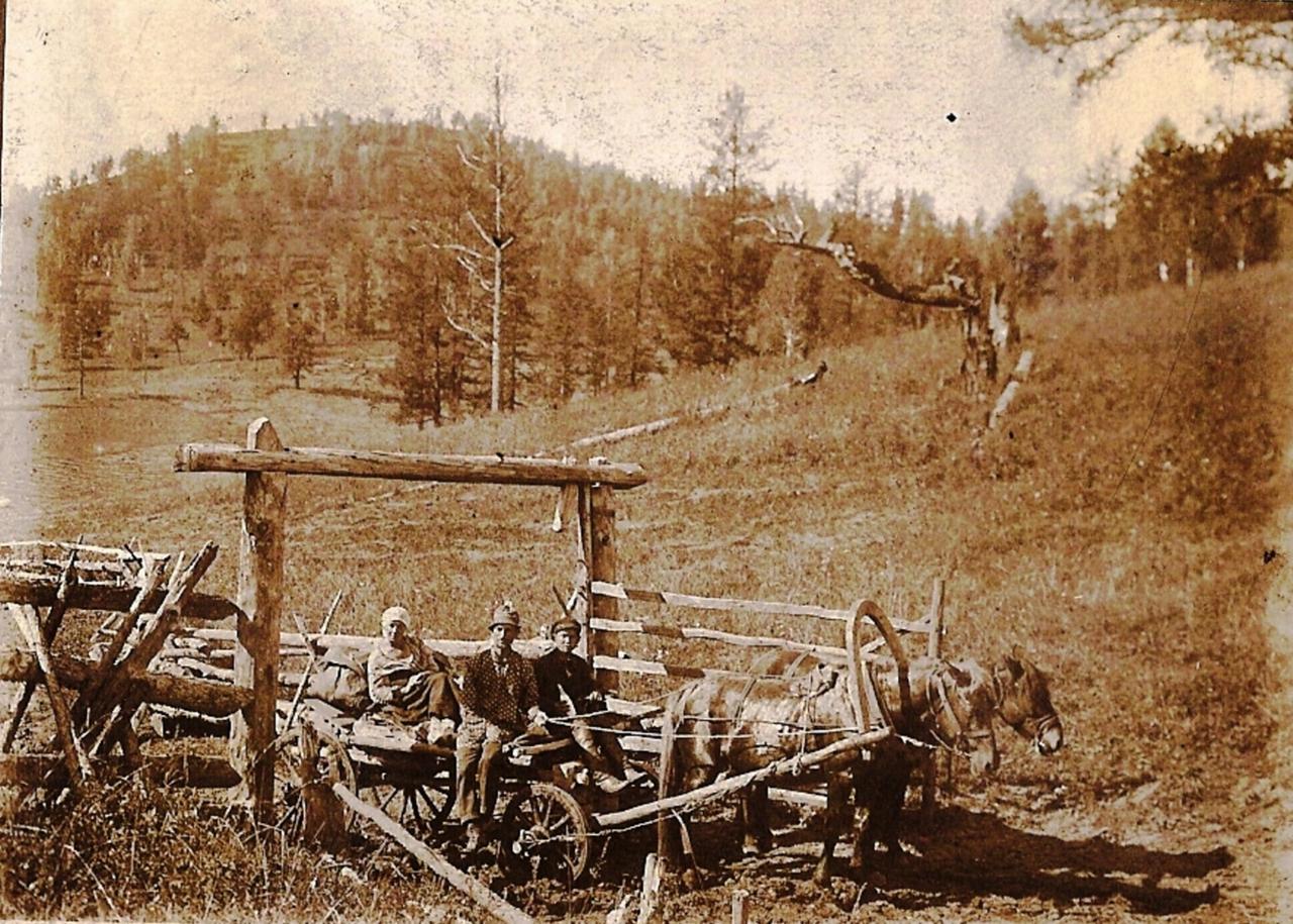 1928. Алтай-экспедиция. Перевал Могуту