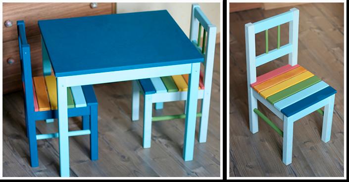 Как покрасить детскую мебель