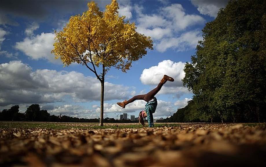 Осенние цвета в Гайд-парке. Лондон, Англия.__Autumn colour in Hyde Park. Photo_ GETTY(900).