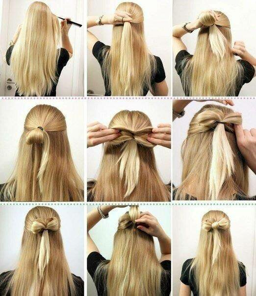 Прически на длинные волосы простые детские