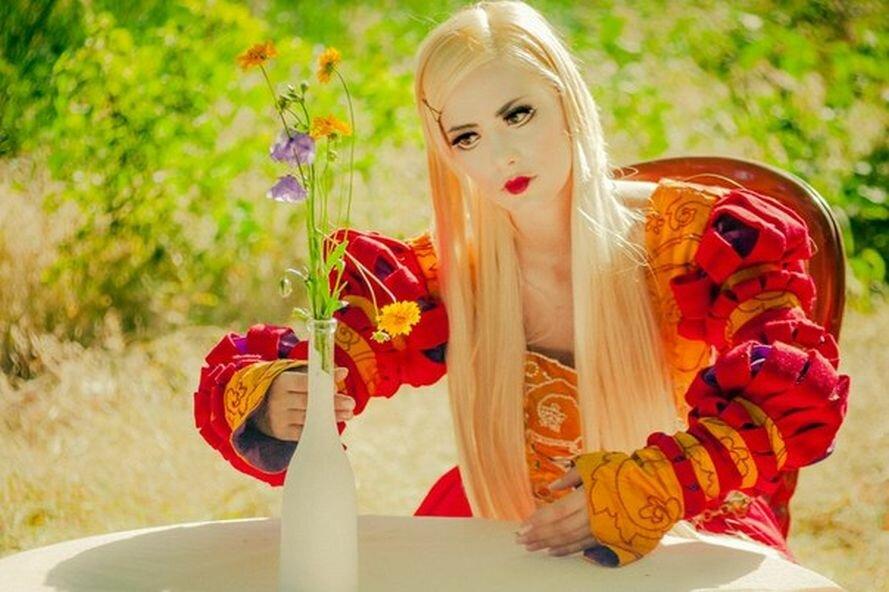 В запорожском парке «ожили» куклы (ФОТО), фото-4