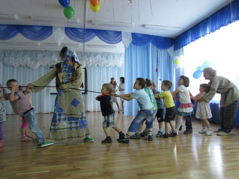 Театрализованное представление в детском саду Подольска