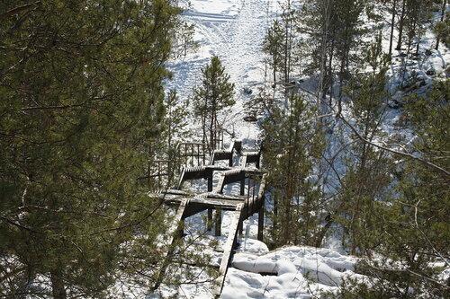 Лестница кводе