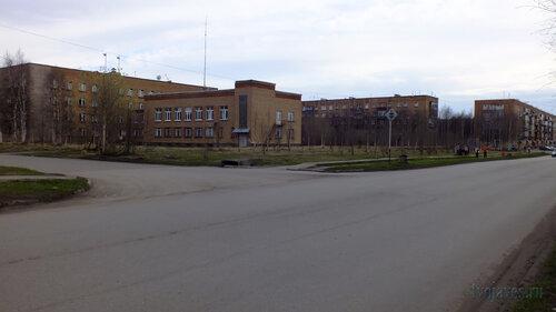 Фото города Инта №4447  Горького 16 (Горадминистрация), Дзержинского 29 и Мира 27 25.05.2013_18:26