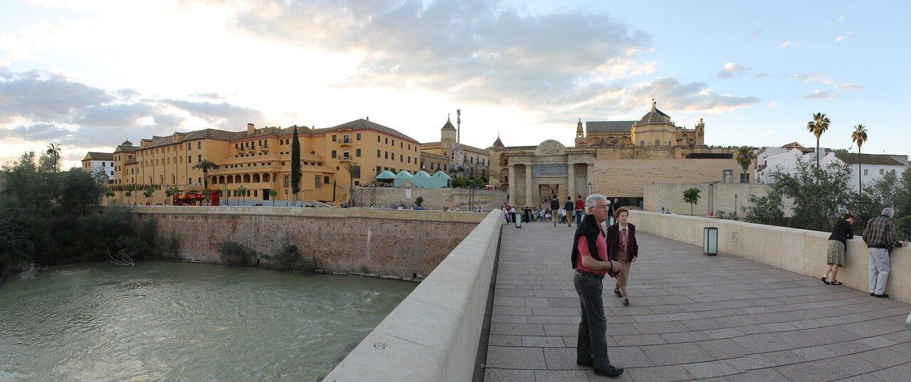 Cordoba. Seminario de San Pelagio and Plaza del Triunfo. Panorama