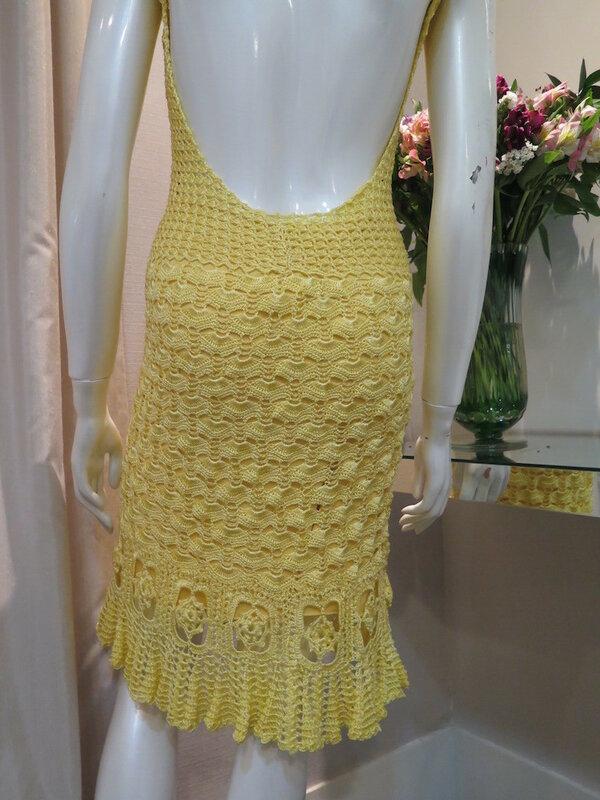 Возьмите на заметку-вязаные платья на лето! Шикарно!
