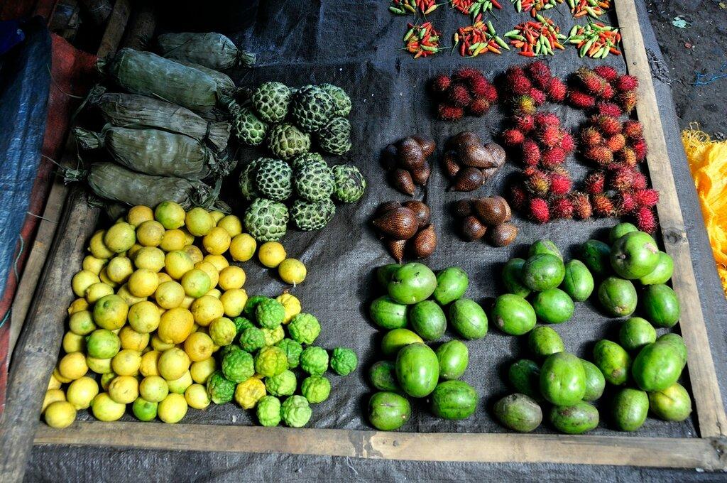 Рынок в Индонезии