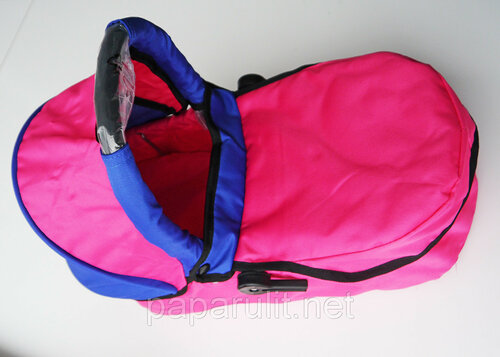 Buggy Boom 8567 розовая с синими вставками
