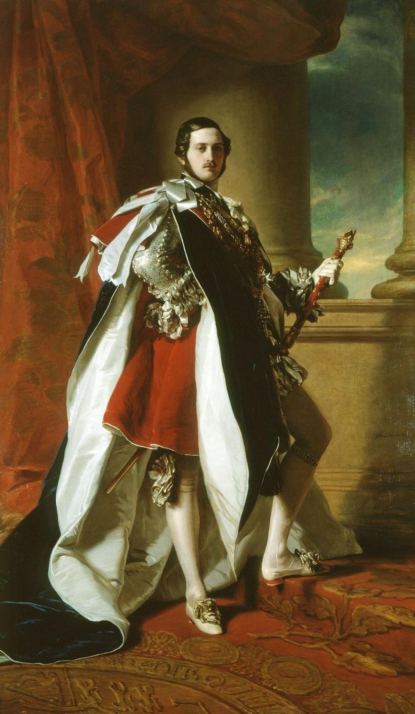 Prince Albert in Garter robes (1819-1861)