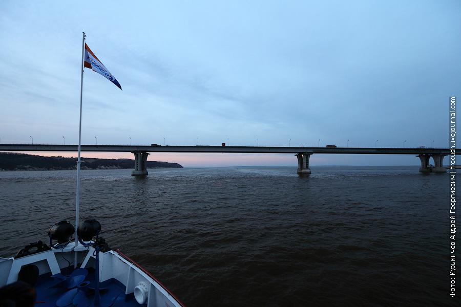 Мостовой переход автодороги Р-239 Казань – Оренбург через Каму в районе села Сорочьи Горы