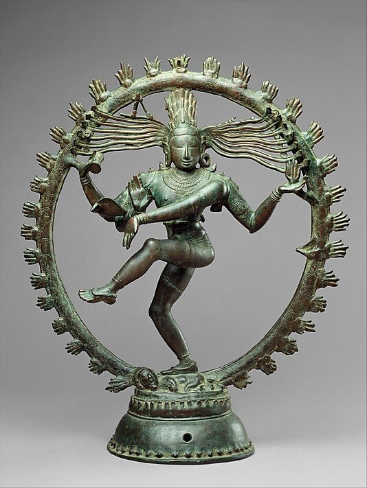 Shiva as Lord of Dance (Nataraja), Chola period (880–1279), Tamil Nadu.