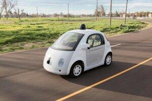 «Беспилотник» Google появится на дорогах летом 2015 года