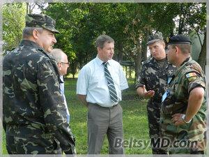 Военные поздравили бельчан с Днем семьи, любви и верности