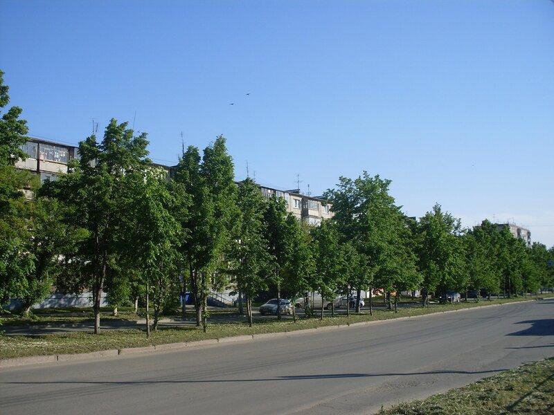 Городской пейзаж. Ул.50-лет ВЛКСМ.