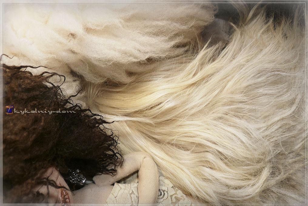 шкура козы, шкура овцы, парики для кукол из шкур.волосы лоя куклыэ