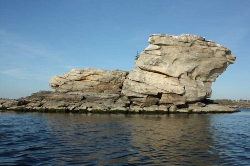 Острова на Аргазинском водохранилище (30.05.2013)