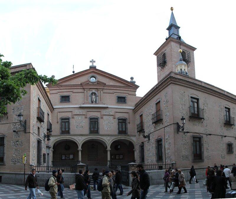 Мадрид. Церковь святого Хинеса (Iglesia de San Ginés de Arlés)