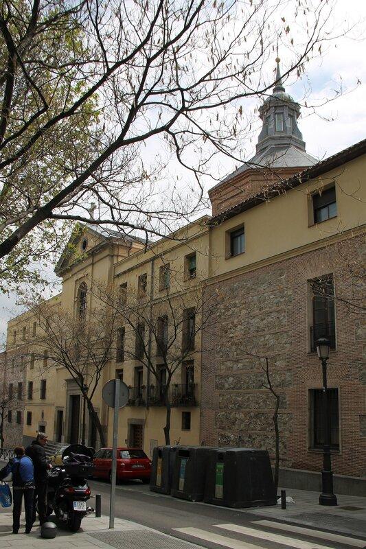 Madrid. Augustinian monastery of Saint Isabel (Real Monasterio de Santa Isabel)