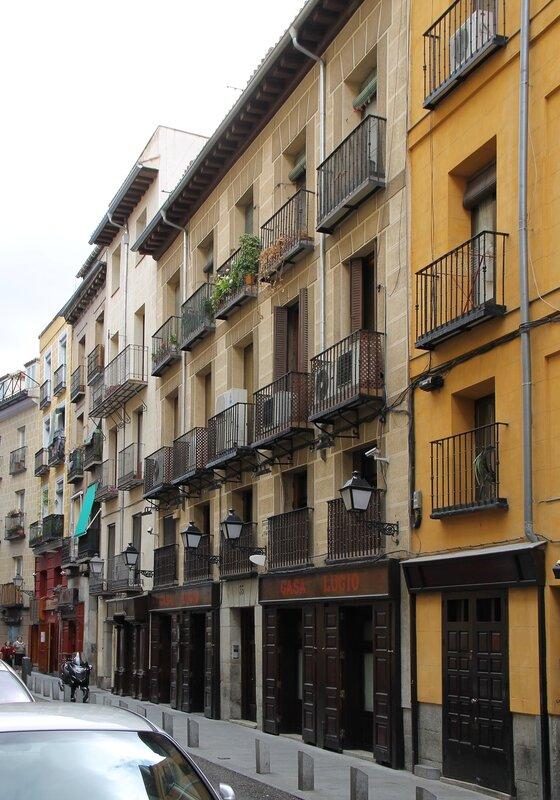 Мадрид. Ресторан Casa Lucio.