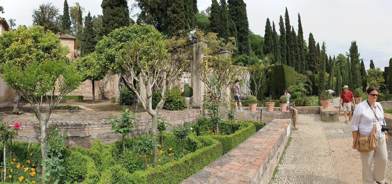 Гранада. Сады Хенералифе (Jardines del Generalife)