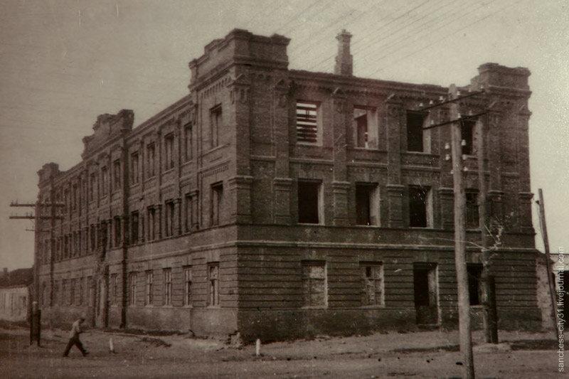 Здание казарм, 1947, фото из коллекции Sanchess'a