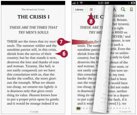 Нажмите на экран в правой части страницы для перехода на следующую