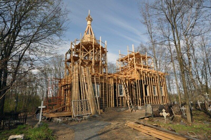 Екатерининская церковь в Петрозаводске