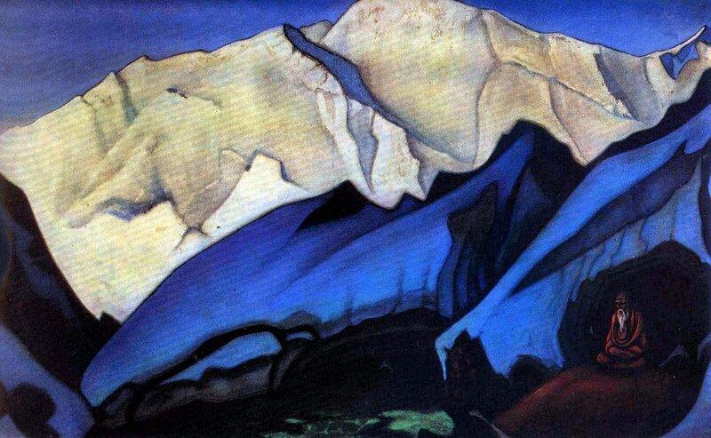 Русские художники,  живопись, Н.К. Рерих, Сантана
