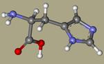 DL-HISTIDINE - 4998-57-6, l-(14c)histidine, 2-amino-3-(1H-imidazol-4-yl)propanoic acid, AG-F-67366, 2-amino-3-(1H-imidazol-5-yl)propanoic acid, histidina-CID_773++.png