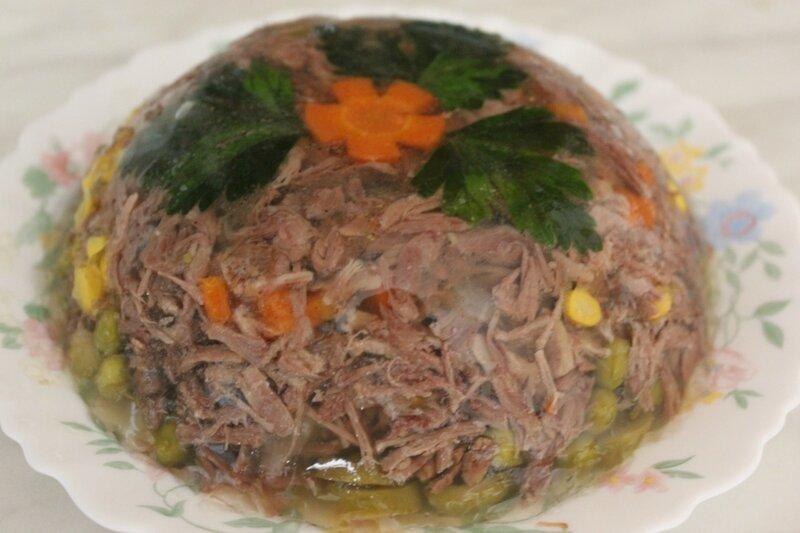 Холодец из говядины рецепт пошагово