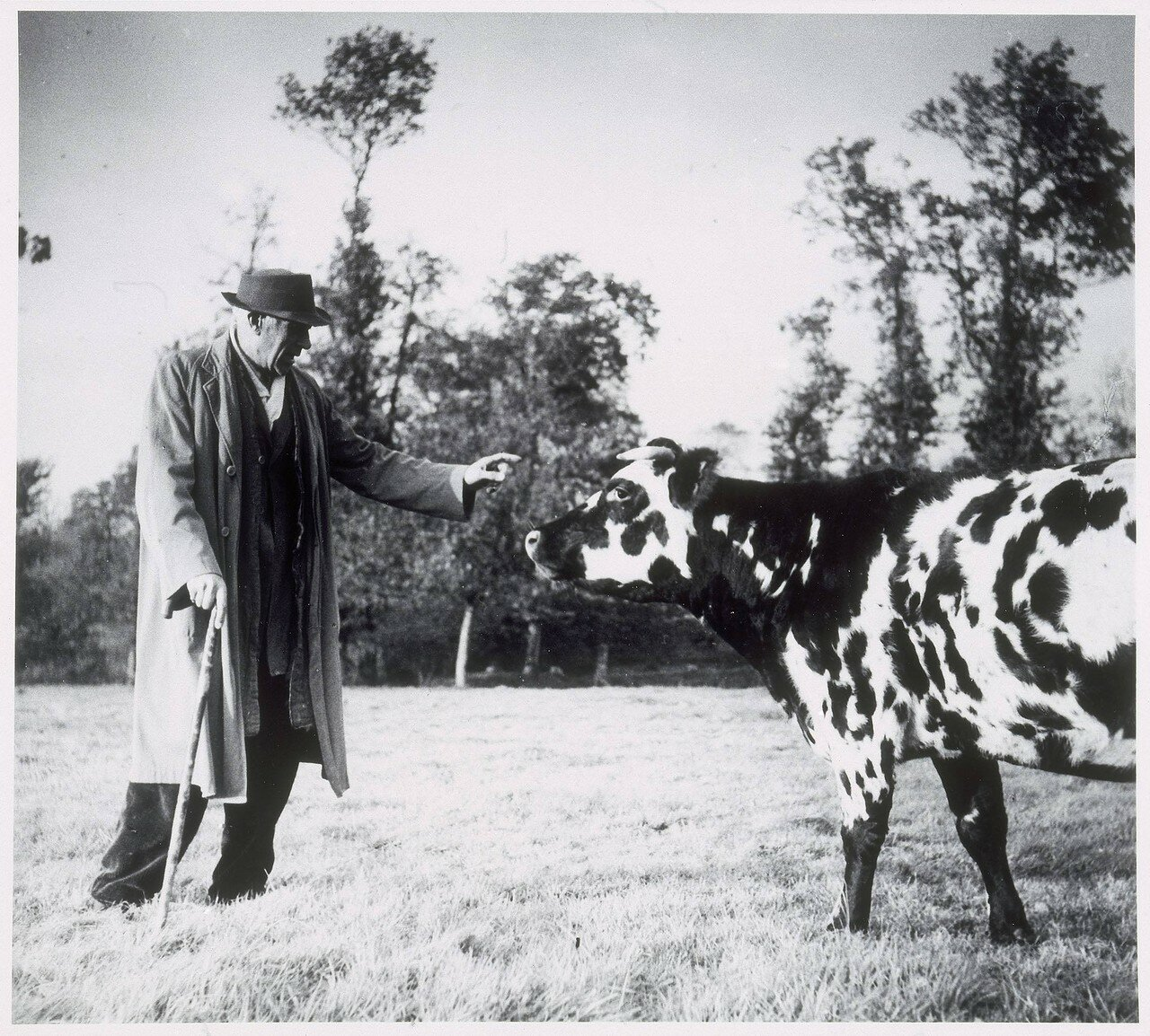 1949. Жорж Брак в Варанжвиле (Нормандия)