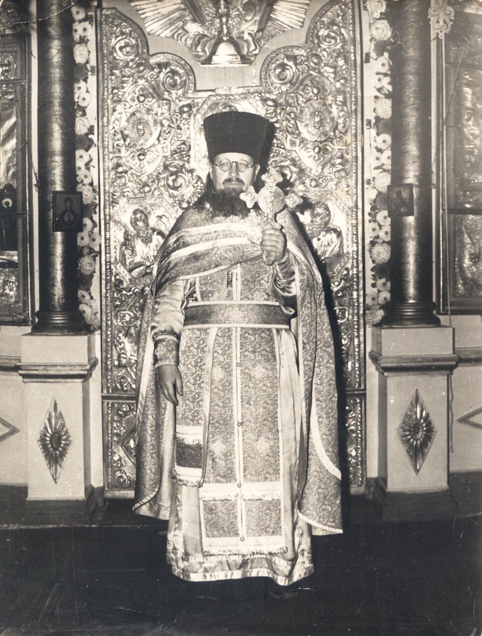 Иерей Владимир Ткачев (фото 70-х годов 20 века)