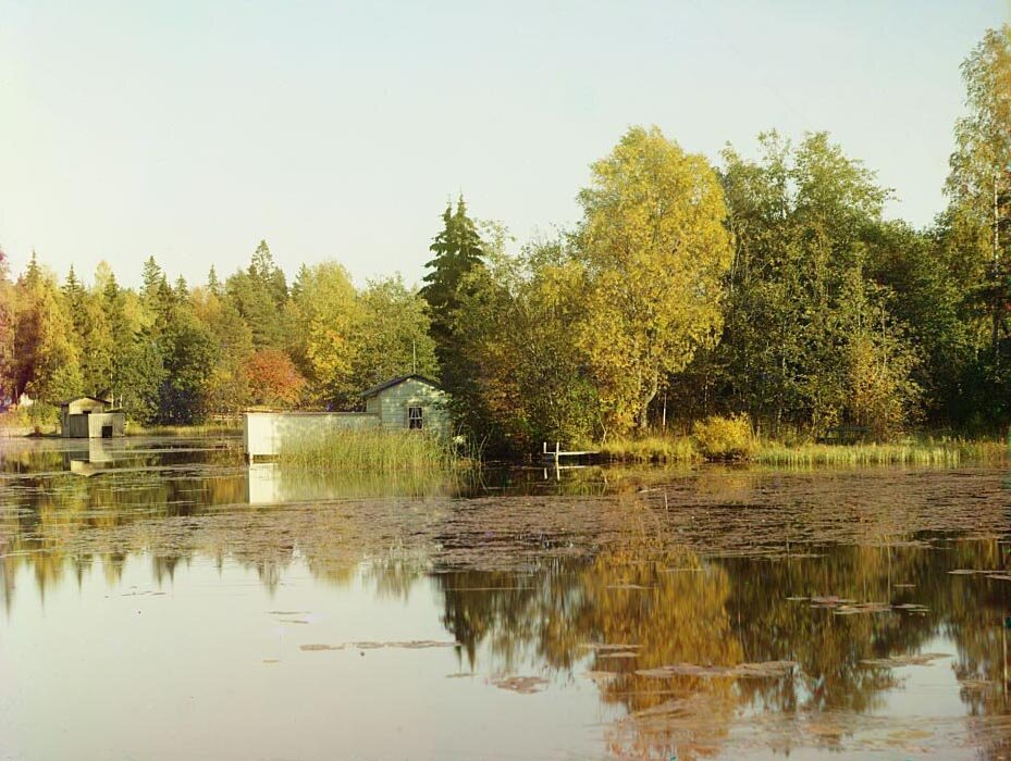 Близ местечка Юстила на Сайменском канале