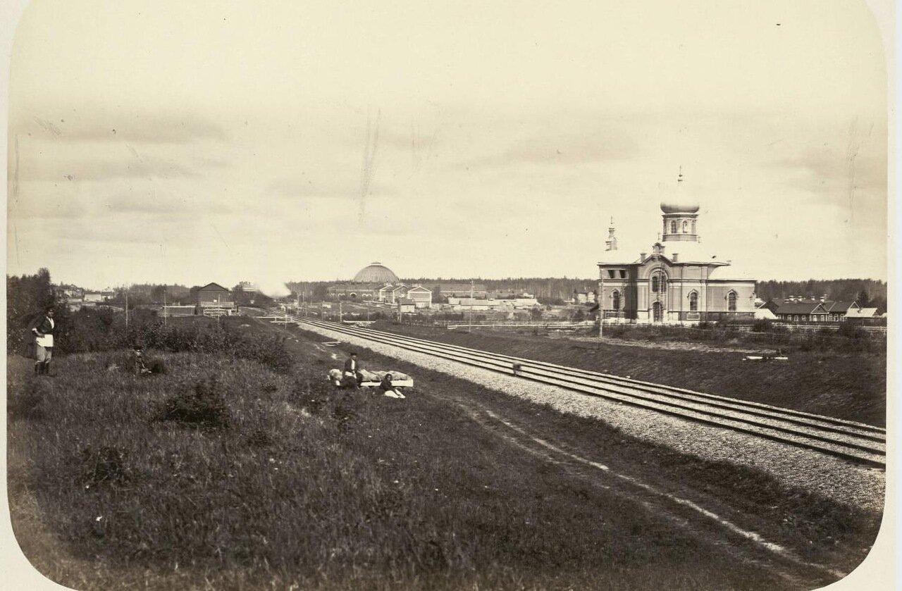 11. Церковь около Николаевской дороги (Между Бурга и Волховым)
