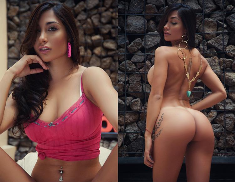 Аргентинская модель Belen Lavallen