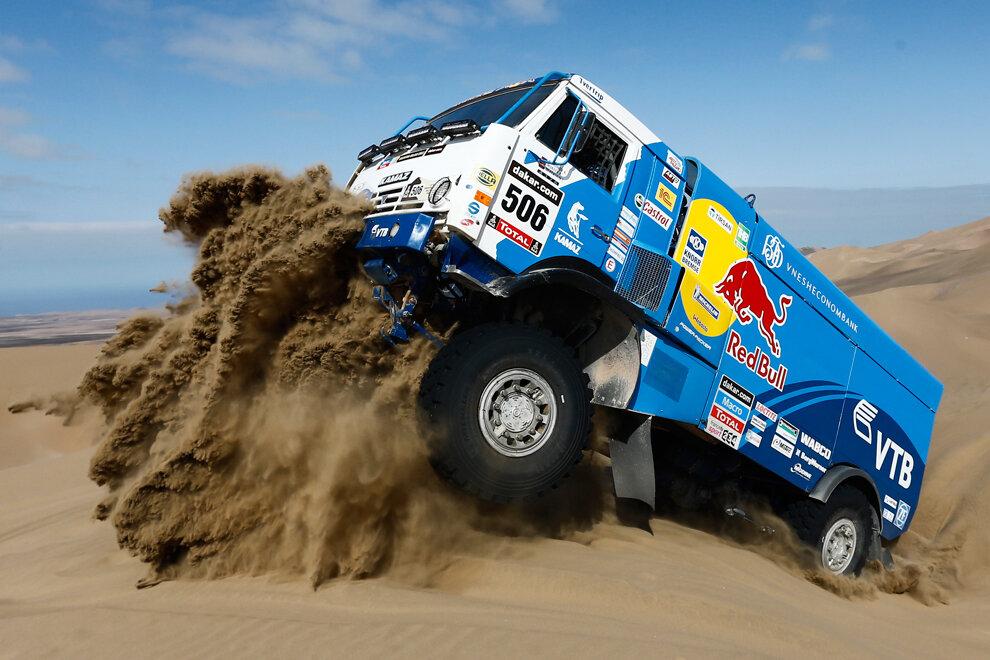 APTOPIX Chile Dakar Rally