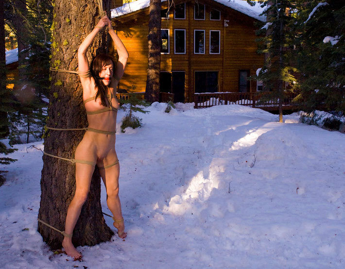 Зима мороз порно