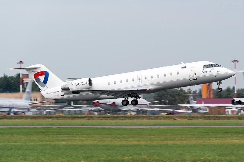 Bombardier CRJ-200ER (RA-67234) Северсталь D801359