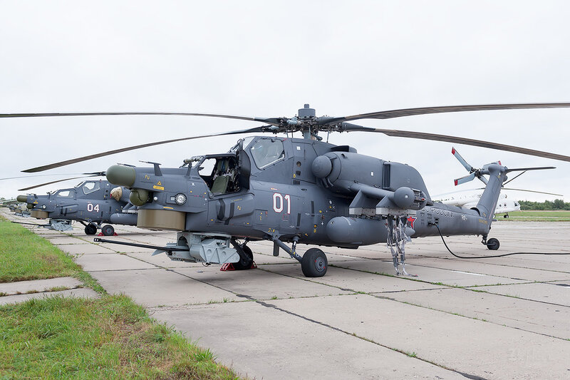 Миль Ми-28Н (01 белый) D707237
