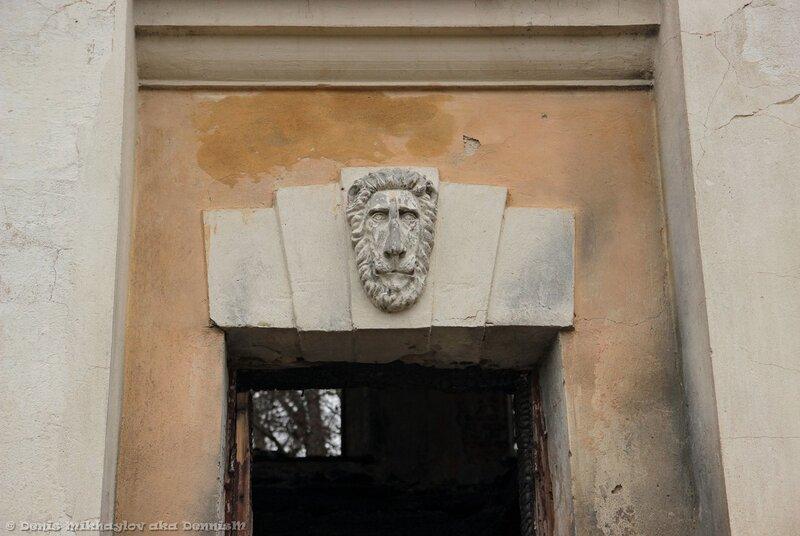 Усадьба Гребнево. Западный флигель.